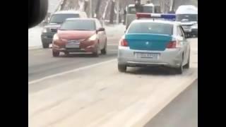 Погоня в Алматы