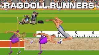Ragdoll Runners QWOP風の陸上競技ゲーが楽しすぎるw