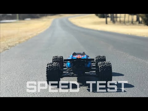 New Traxxas Next Gen E-REVO SPEED TEST | How Fast Is The E-REVO 2.0 On 6s LiPo? | Overkill RC