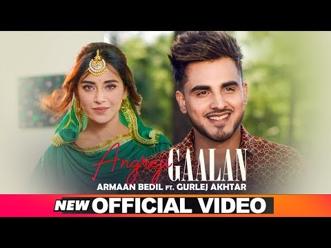 ARMAAN BEDIL | ANGREJI GAALAN (Official Video) | Ft Surinder Shinda | Gurlej Akhtar | New Songs 2019