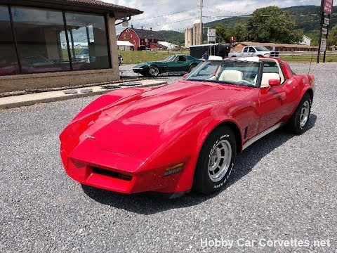 1980 Red Corvette T-Top Video