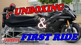 YAMAHA R6 2019🔥  UNBOXING & FIRST RIDE!🚀   RayBikelife