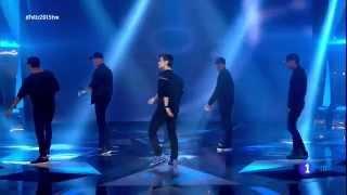 Abraham Mateo - All The Girls (La La La) (Especial NocheVieja Fin de Año 2014 tve)