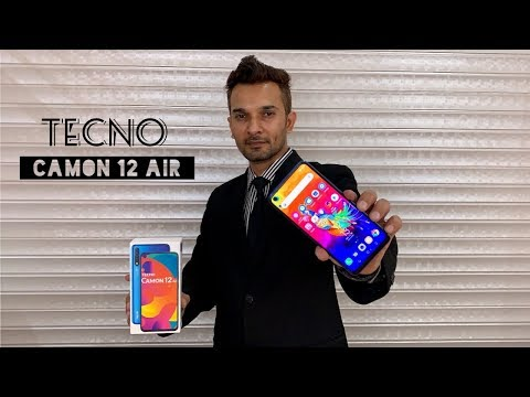FIRST BUDGET SMARTPHONE WITH PUNCH HOLE DISPLAY | Tecno Camon 12 Air