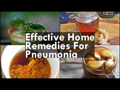 Video Home Remedies For Pneumonia