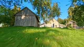 Lithuanian Village FPV Cinematic 4K