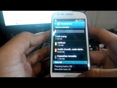 Samsung i8190 aka samsung s3 mini with 16gb EMMC