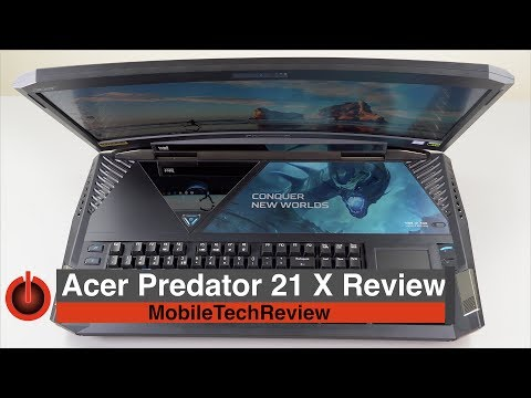 Acer Predator 21 X Review – the $9,000 Gaming Laptop
