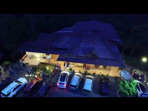 Video Drone: Melihat Keindahan Perbukitan di Bandrek House Sumatera Barat dari Udara