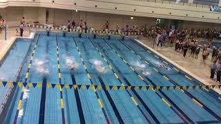 2017/10/29第14回栃木県マスターズ水泳25free7組