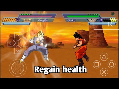 How to regain health in dragon ball Z shin budokai 2