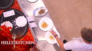 Jackie Struggles With Fries | Hells Kitchen