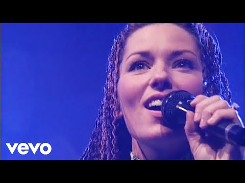 shania twain live in chicago when you kiss me
