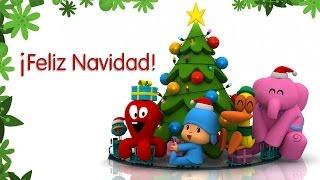 Pocoyo os desea una Navidad llena de felicidad y diversión