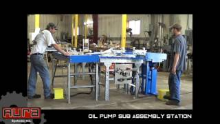 Aura Systems - Oil Pump Sub Assembly Station