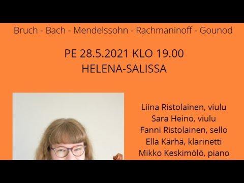 Maiju Salmikivi lopputyön konsertti