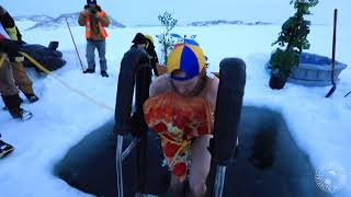 Midwinter Madness - Casey research station takes an icy dip
