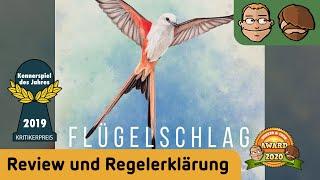 Flügelschlag (Kennerspiel des Jahres 2019) - Brettspiel - Review
