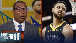 Is the Warriors' dynasty on the line tonight against the Raptors?   NBA   FIRST THINGS FIRST