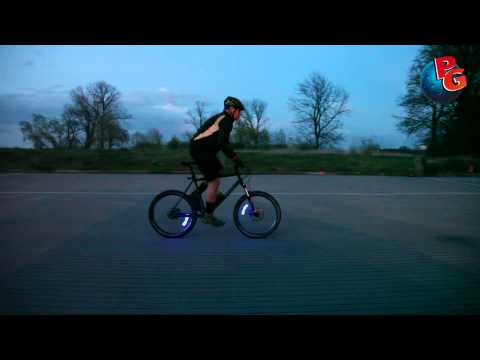 Lichtrad - LED Ventilkappen für´s Fahrrad