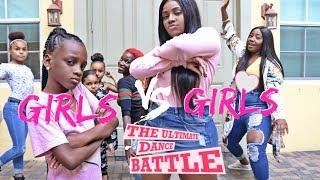 Freeze Dance Challenge GIRLS Vs GIRLS