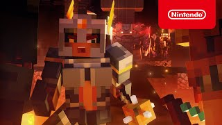 Nintendo Minecraft Dungeons - Launch Trailer Advert
