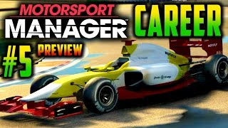 ATTACK ALL RACE LONG! - Motorsport Manager PC GAMEPLAY CAREER PART 5 (Preview)