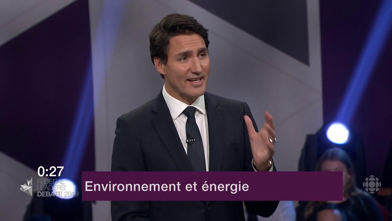 Justin Trudeau et Jagmeet Singh débattent sur les oléoducs et le changement climatique