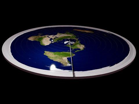 Co když je Země plochá?