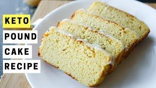 KETO Cream Cheese Pound Cake Recipe | Easy Low Carb Keto Breakfast Ideas