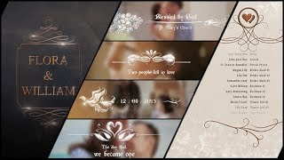 videohive wedding titles slideshow light leaks - TH-Clip