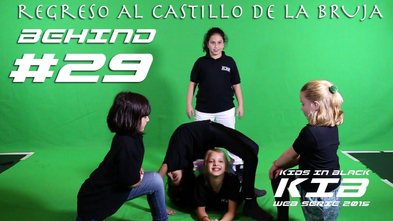 Regreso al Castillo de la Bruja - Kids In Black 2015 - Detrás de las cámaras #29