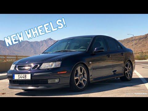 Putting Turbo X Wheels on My Saab 9-3 Arc!
