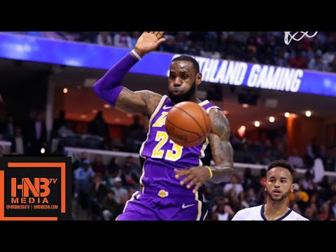 Los Angeles Lakers vs Memphis Grizzlies 1st Qtr Highlights | 12.08.2018, NBA Season