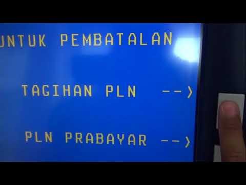 CARA MEMBAYAR TAGIHAN LISTRIK LEWAT ATM BNI