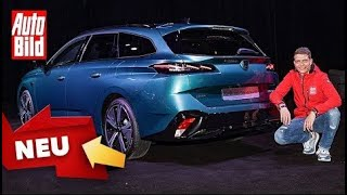 [AUTO BILD] Peugeot 308 SW (2021) | Neuer 308-Kombi im ersten Check | Sitzprobe mit Moritz Doka