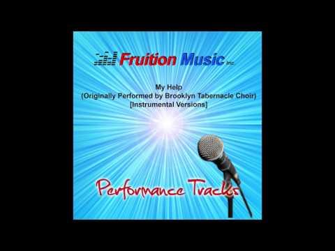 My Help (F) [Minus Piano] [Originally by Brooklyn Tabernacle Choir] [Instrumental Version] SAMPLE