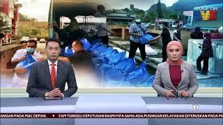 BANJIR | Unit Udara JBPM Hantar Bantuan Makanan Ke Pos Gob
