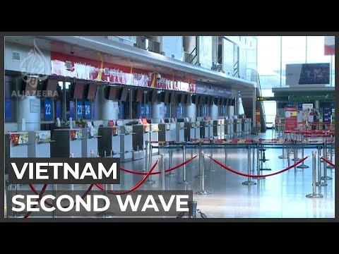 Vietnam battles second pandemic wave