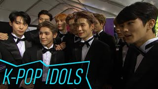AMAs 2018: K-Pop Band NCT 127 Make Their Red Carpet Debut & Reveal How They Captivate Their Fans
