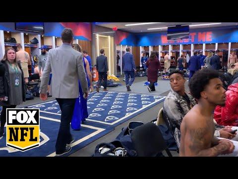 Go inside the Rams locker room after their Super Bowl LIII loss   FOX NFL