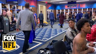 Go inside the Rams locker room after their Super Bowl LIII loss | FOX NFL