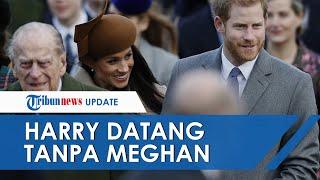 Kembali ke Inggris untuk Ikuti Prosesi Pemakaman Pangeran Philip, Harry Tak Ditemani Meghan Markle