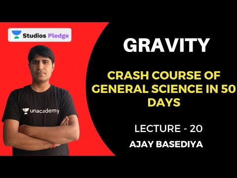 L20: Gravity | Crash Course of General Science in 50 days | MPPSC
