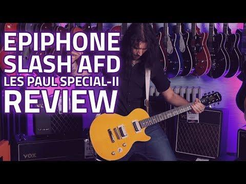 Epiphone Slash AFD Les Paul Special-II Guitar Outfit - Demo Review