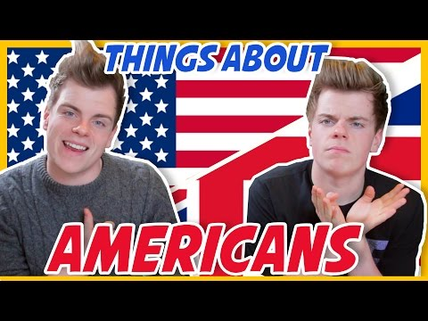 THINGS BRITISH DON'T UNDERSTAND ABOUT AMERICANS | NikiNSammy