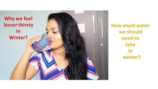 How much water we should need to take in winter? || Importance of water intake || Glow Gossip