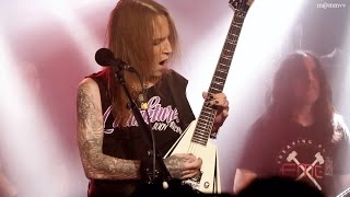 [4k60p] Children Of Bodom - Deadnight Warrior & In The Shadows - Live in Stockholm 2017