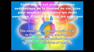 La Pierre Noire artéfact Chimèra version Française message des Pléiadiens :Voulez- vous nous aider