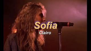 Clairo   Sofia (lyrics)